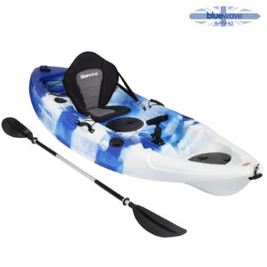 Blue wave kayak