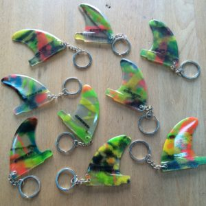 C SKINS FIBRE GLASS KEY RING FINS
